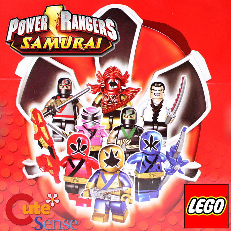 Power Rangers Samurai Figure Random Pack Series 1 Lego ...