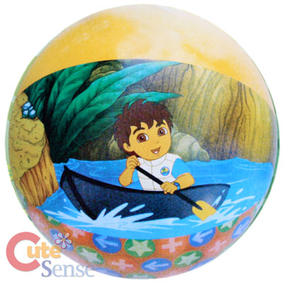 """Nick Jr Go Diego Go 16""""Inflatable Beach Ball Water Party Supply"""